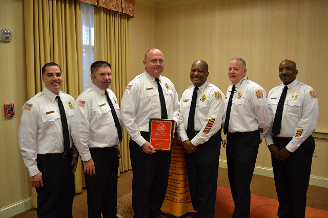 Fire Officer of the Year 2015